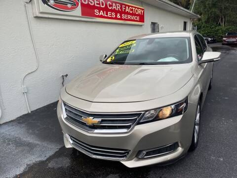 2014 Chevrolet Impala for sale at Used Car Factory Sales & Service in Port Charlotte FL