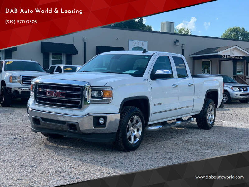 2015 GMC Sierra 1500 for sale at DAB Auto World & Leasing in Wake Forest NC