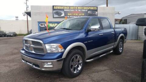 2009 Dodge Ram Pickup 1500 for sale at Advantage Motorsports Plus in Phoenix AZ