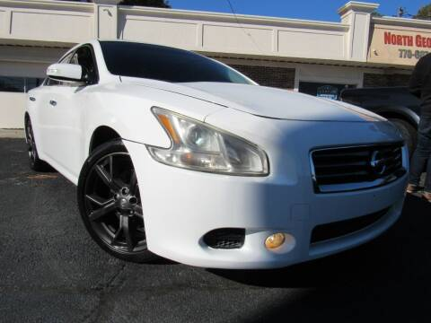 2014 Nissan Maxima for sale at North Georgia Auto Brokers in Snellville GA