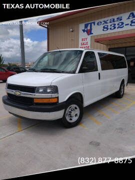 2014 Chevrolet Express Passenger for sale at TEXAS AUTOMOBILE in Houston TX