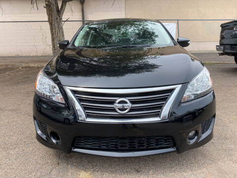 2015 Nissan Sentra for sale at GO GREEN MOTORS in Lakewood CO