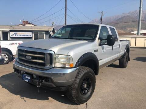 2002 Ford F-350 Super Duty for sale at Orem Auto Outlet in Orem UT