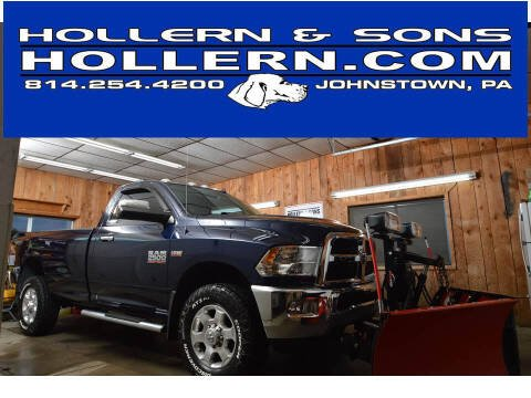 2016 RAM Ram Pickup 2500 for sale at Hollern & Sons Auto Sales in Johnstown PA