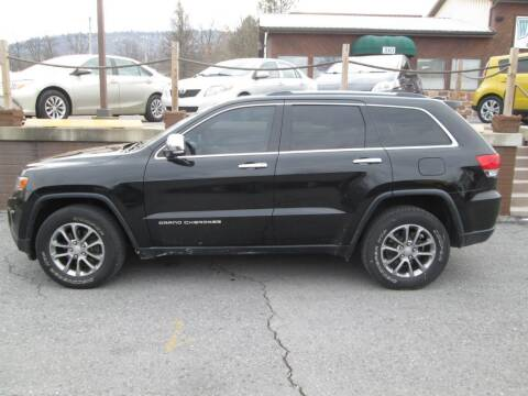 2014 Jeep Grand Cherokee for sale at WORKMAN AUTO INC in Pleasant Gap PA