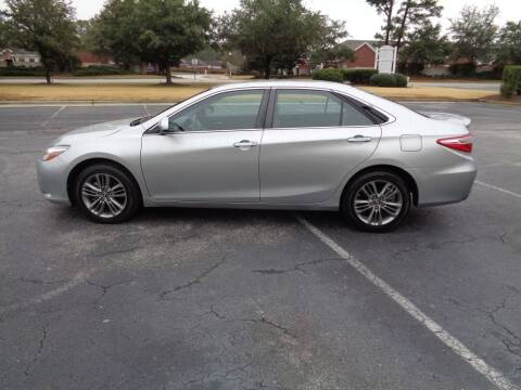 2017 Toyota Camry for sale at BALKCUM AUTO INC in Wilmington NC