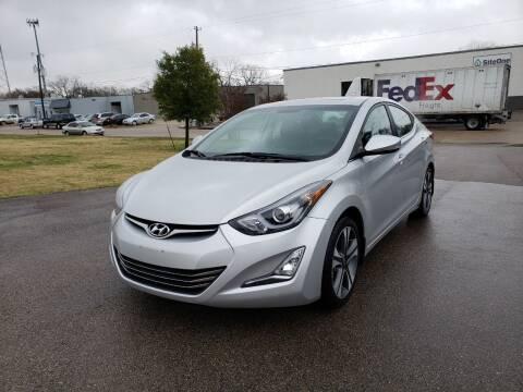 2014 Hyundai Elantra for sale at Image Auto Sales in Dallas TX