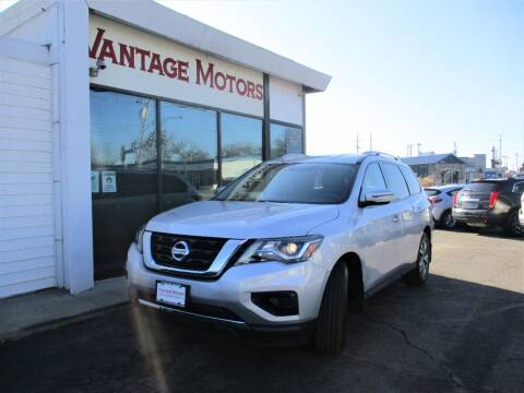 2017 Nissan Pathfinder for sale at Vantage Motors LLC in Raytown MO