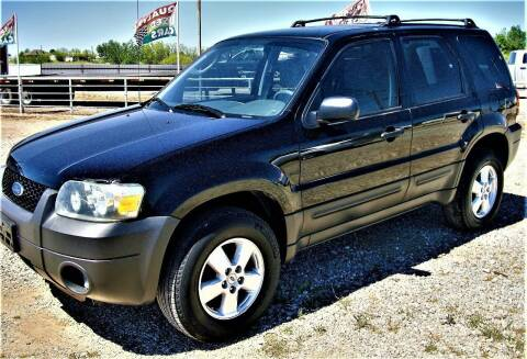 2006 Ford Escape for sale at Advantage Auto Sales in Wichita Falls TX