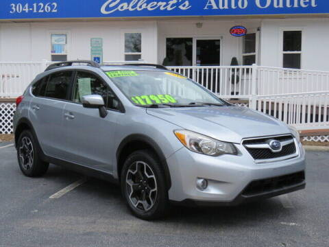 2015 Subaru XV Crosstrek for sale at Colbert's Auto Outlet in Hickory NC