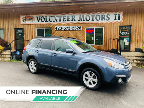 2013 Subaru Outback for sale at Kerwin's Volunteer Motors in Bristol TN
