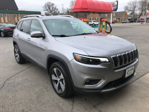 2019 Jeep Cherokee for sale at Carney Auto Sales in Austin MN