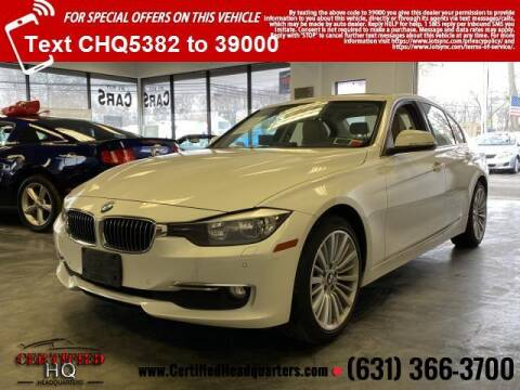 2014 BMW 3 Series for sale at CERTIFIED HEADQUARTERS in St James NY