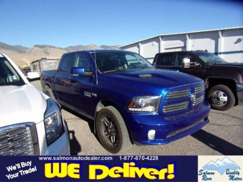 2017 RAM Ram Pickup 1500 for sale at QUALITY MOTORS in Salmon ID