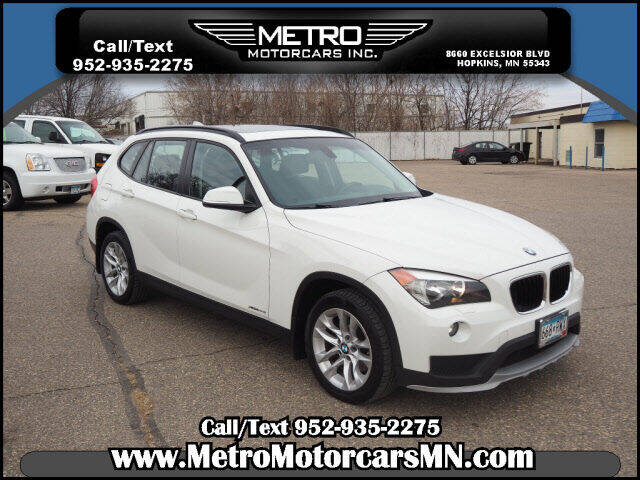 2015 BMW X1 for sale at Metro Motorcars Inc in Hopkins MN