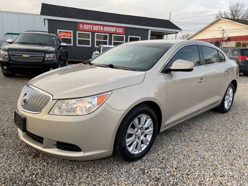 2010 Buick LaCrosse for sale at Y City Auto Group in Zanesville OH
