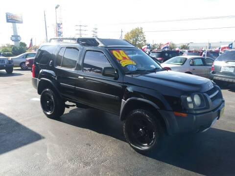 2004 Nissan Xterra for sale at Texas 1 Auto Finance in Kemah TX