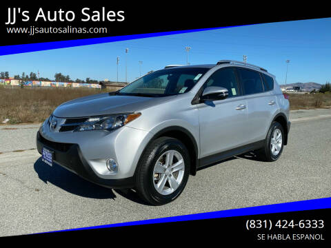 2013 Toyota RAV4 for sale at JJ's Auto Sales in Salinas CA