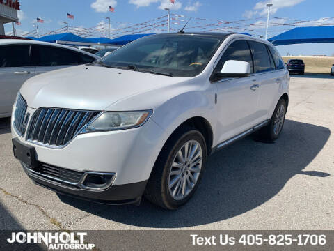 2011 Lincoln MKX for sale at JOHN HOLT AUTO GROUP, INC. in Chickasha OK