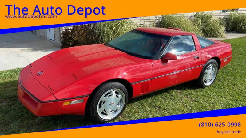 1989 Chevrolet Corvette for sale at The Auto Depot in Mount Morris MI