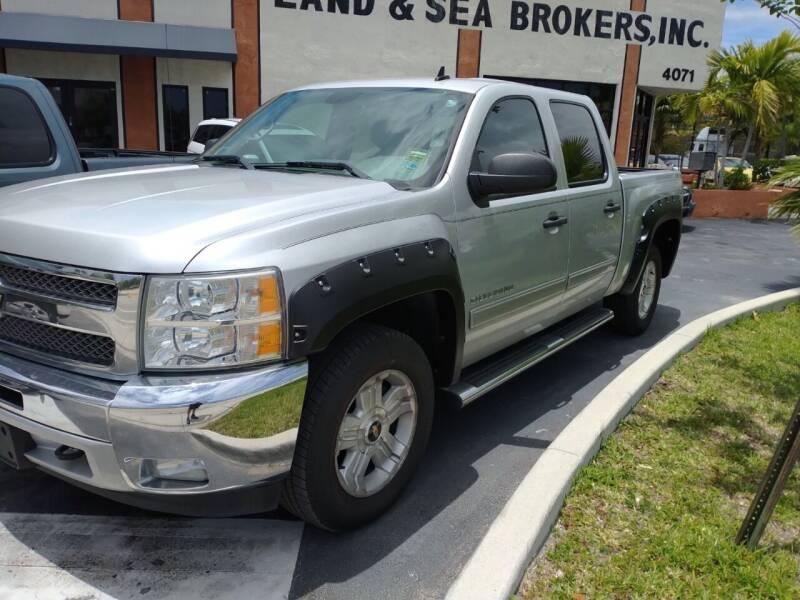 2013 Chevrolet Silverado 1500 for sale at LAND & SEA BROKERS INC in Deerfield FL