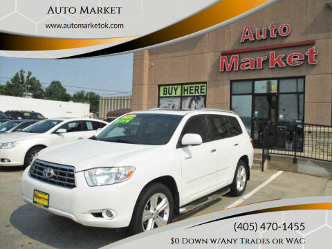 2010 Toyota Highlander for sale at Auto Market in Oklahoma City OK