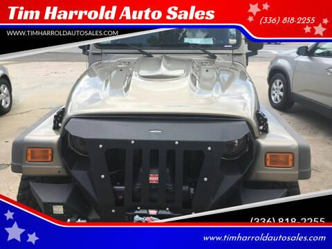 2005 Jeep Wrangler for sale at Tim Harrold Auto Sales in Wilkesboro NC