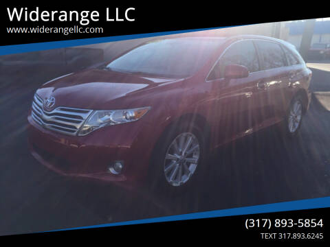2011 Toyota Venza for sale at Widerange LLC in Greenwood IN