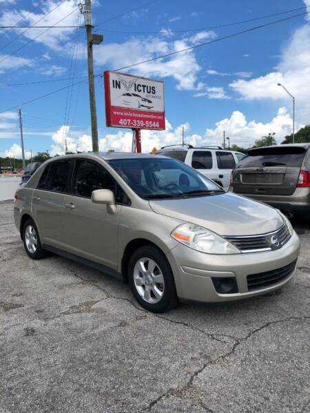 2009 Nissan Versa for sale at Invictus Automotive in Longwood FL
