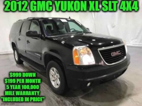2012 GMC Yukon XL for sale at D&D Auto Sales, LLC in Rowley MA
