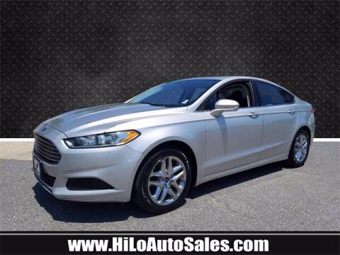 2016 Ford Fusion for sale at Hi-Lo Auto Sales in Frederick MD