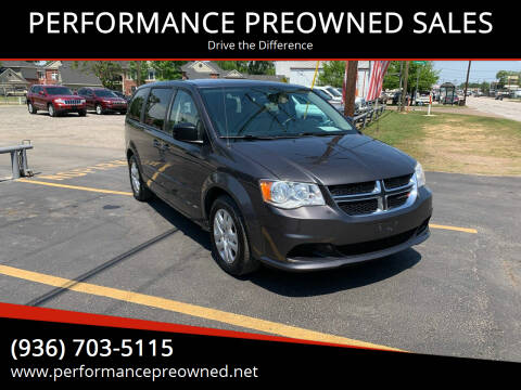 2015 Dodge Grand Caravan for sale at PERFORMANCE PREOWNED SALES in Conroe TX