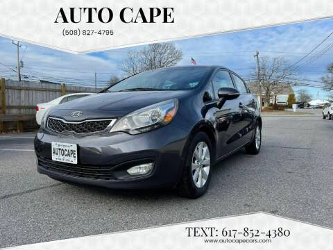 2012 Kia Rio for sale at Auto Cape in Hyannis MA