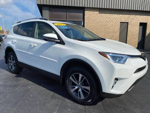 2017 Toyota RAV4 for sale at C Pizzano Auto Sales in Wyoming PA