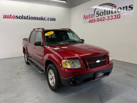 2005 Ford Explorer Sport Trac for sale at Auto Solutions in Warr Acres OK