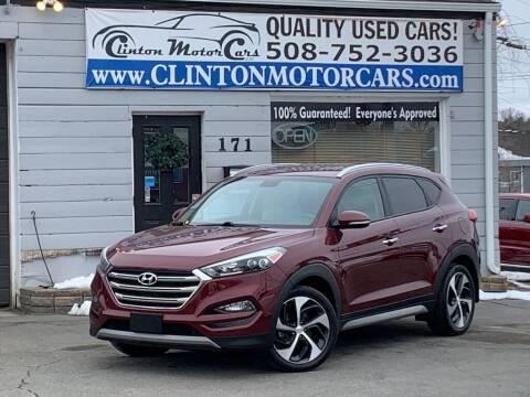 2017 Hyundai Tucson for sale at Clinton MotorCars in Shrewsbury MA
