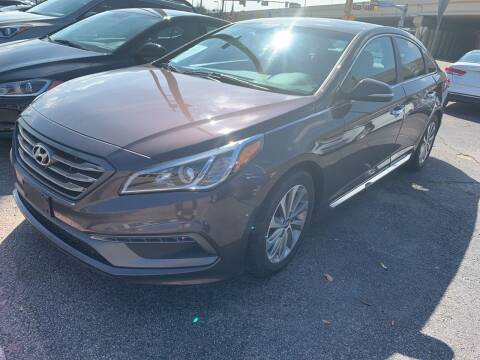 2016 Hyundai Sonata for sale at New Start Auto in Richardson TX