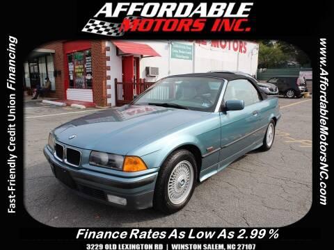 1994 BMW 3 Series for sale at AFFORDABLE MOTORS INC in Winston Salem NC