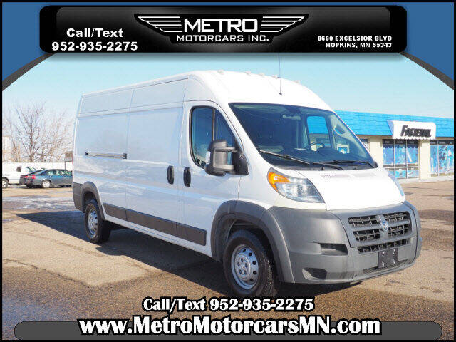 2018 RAM ProMaster Cargo for sale at Metro Motorcars Inc in Hopkins MN