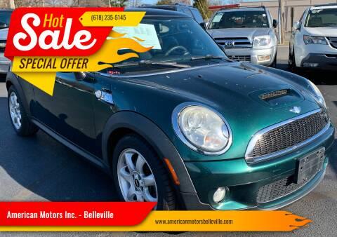 2008 MINI Cooper for sale at American Motors Inc. - Belleville in Belleville IL