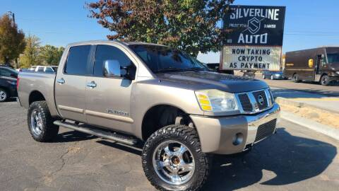 2006 Nissan Titan for sale at Silverline Auto Boise in Meridian ID