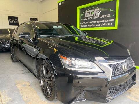 2013 Lexus GS 350 for sale at GCR MOTORSPORTS in Hollywood FL