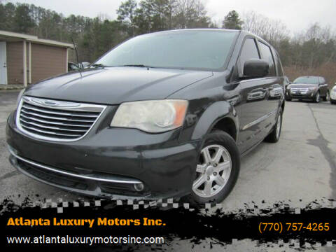 2012 Chrysler Town and Country for sale at Atlanta Luxury Motors Inc. in Buford GA