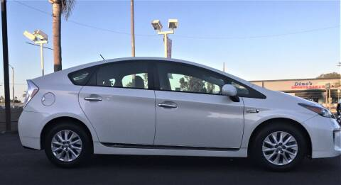 2013 Toyota Prius Plug-in Hybrid for sale at CARSTER in Huntington Beach CA