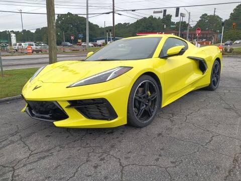 2021 Chevrolet Corvette for sale at Atlanta Fine Cars in Jonesboro GA