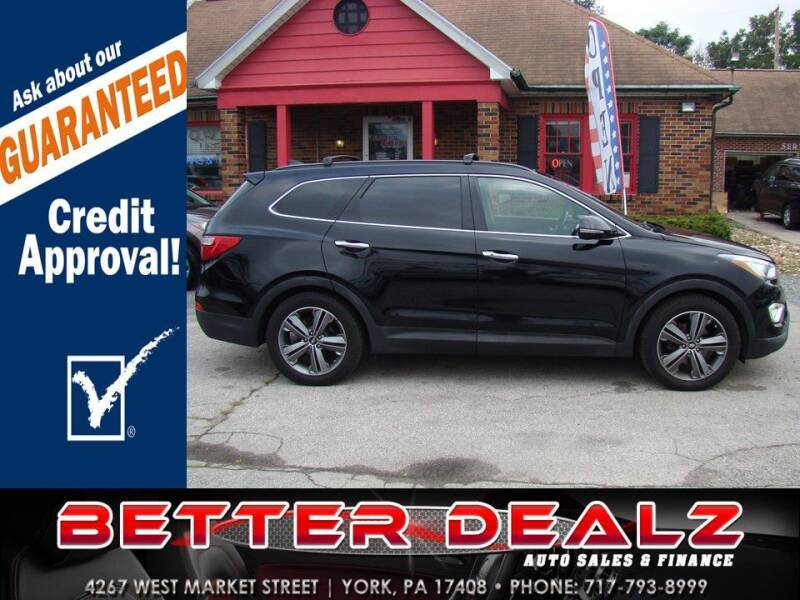 2014 Hyundai Santa Fe for sale at Better Dealz Auto Sales & Finance in York PA