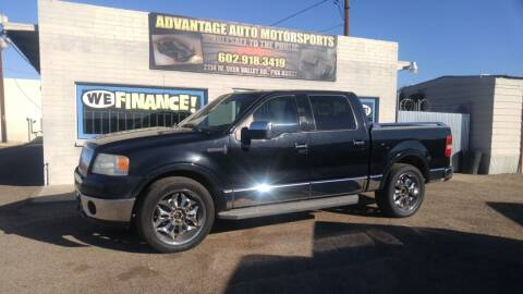 2006 Lincoln Mark LT for sale at Advantage Motorsports Plus in Phoenix AZ