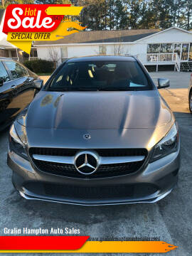 2018 Mercedes-Benz CLA for sale at Gralin Hampton Auto Sales in Summerville SC