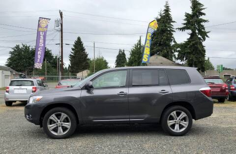2008 Toyota Highlander for sale at A & V AUTO SALES LLC in Marysville WA