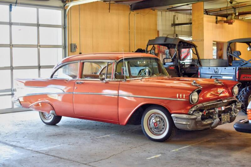 1957 Chevrolet Classic for sale at Hooked On Classics in Watertown MN